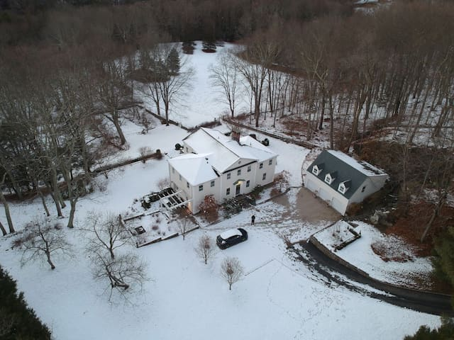 Large, private home in Bedford, NY, Westchester