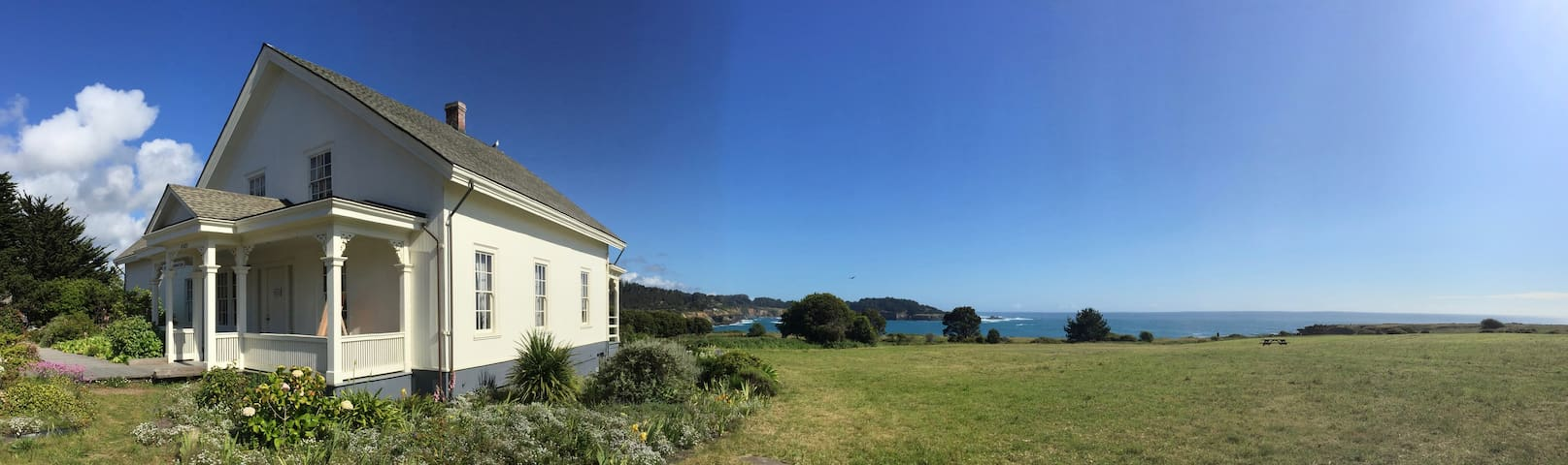The Ford House, Mendocino. Do you know who Jerome Ford was?