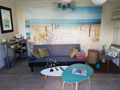 Gästrum i lägenhet på 30m2