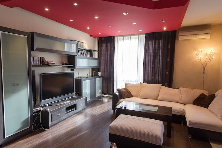 SPACIOUS AND COSY APARTMENT IN A QUIET COMPLEX - 索非亞 - 公寓