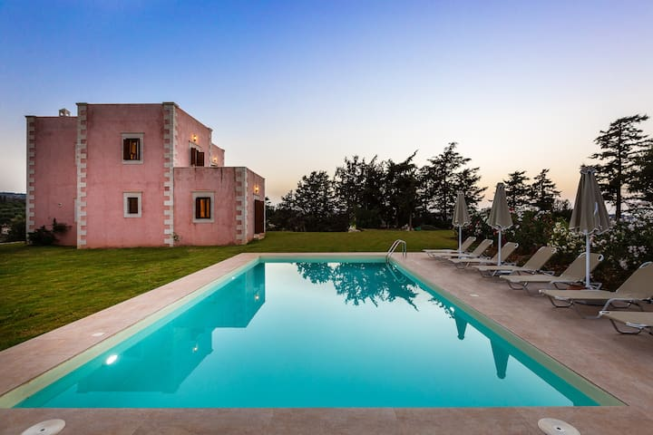 Luxurious stone-built villa with private pool