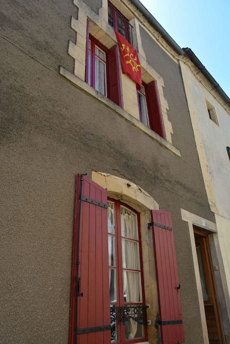Lovingly restored village house
