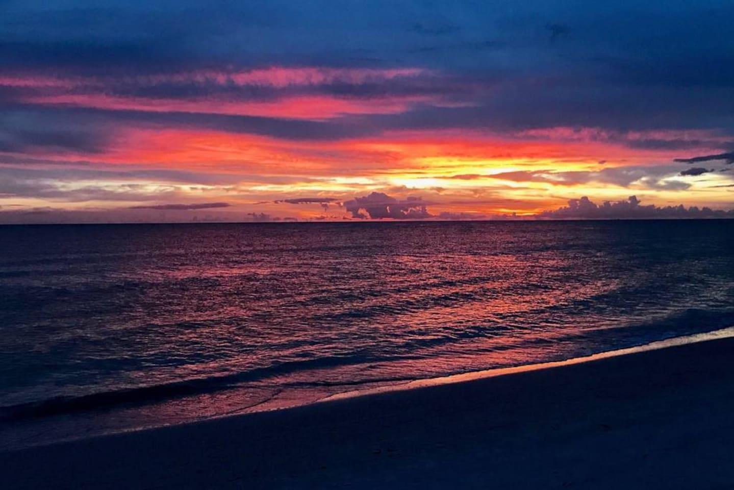 Stunning Sunsets at St Pete Beach