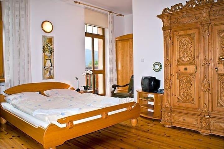 Pokój z widokiem na góry i balkonem - Szklarska Poręba - Apartment