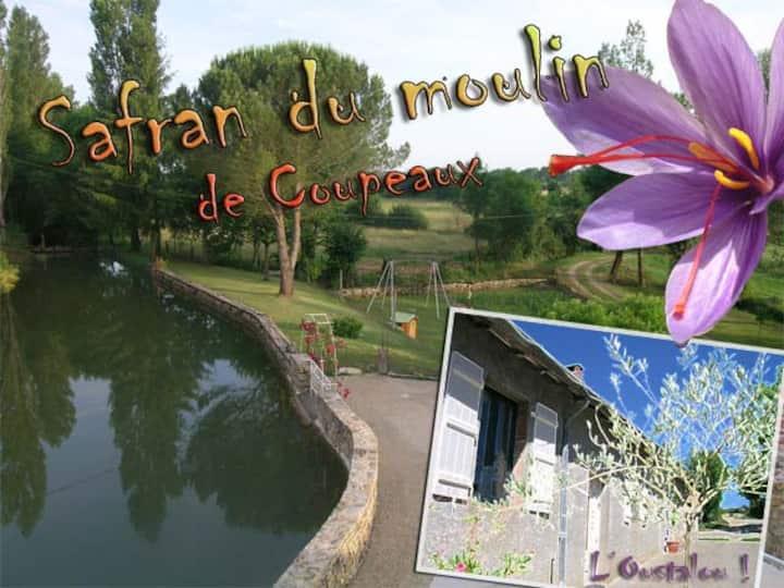 Moulin à eau en Aveyron, proche du Lot