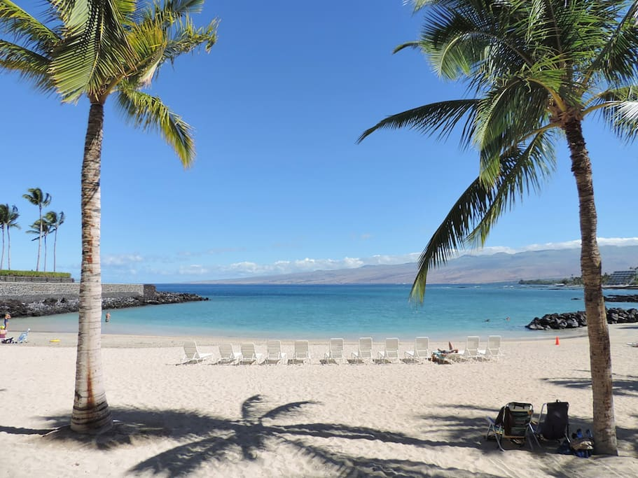 Mauna Lani Beach Club - private club - pass included