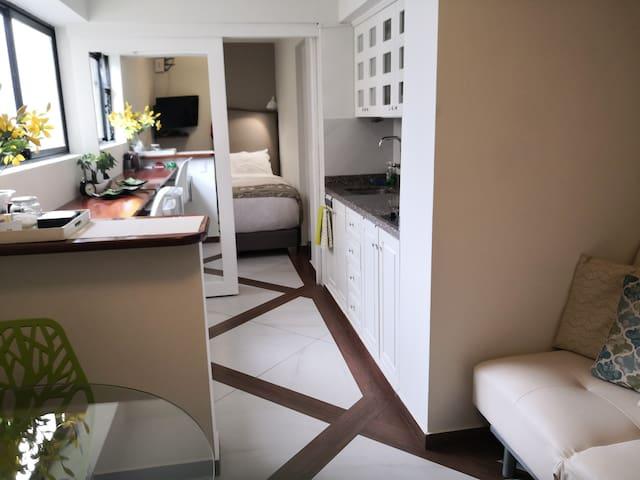 Boutique Apartment Suite with a fantastic location