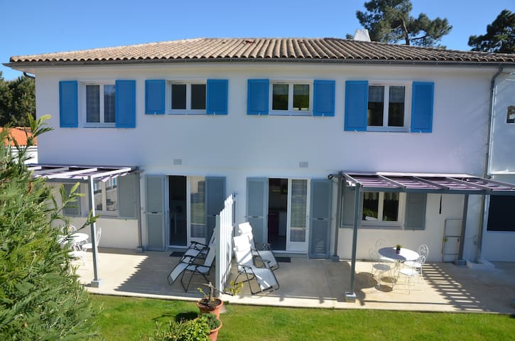 Appartement B avec jardin dans vila - Saint-Trojan-les-Bains - Huoneisto