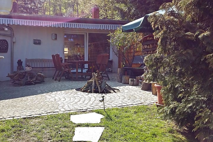 Luxuriöses Ferienhaus in Blankenburg mit Terrasse
