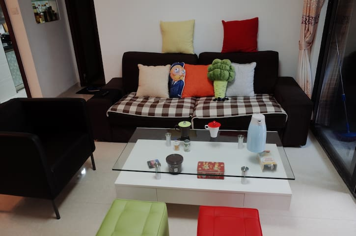 Double bedroom in shared flat - Shenzhen City - Apartamento