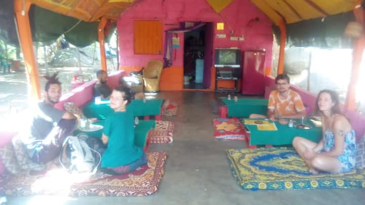 Rustic Home Stay at Hampi Sunrise Point- AB