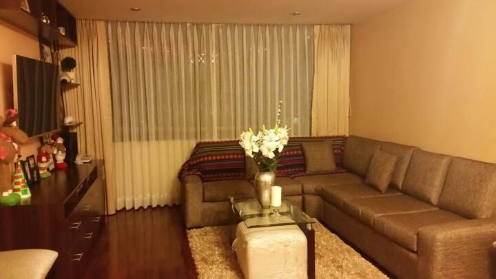 Apartamento limpio y cómodo con wifi y Netflix