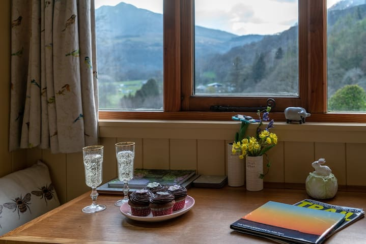 There's always a few treats awaiting you on your visit to Glyn Shepherds Hut.