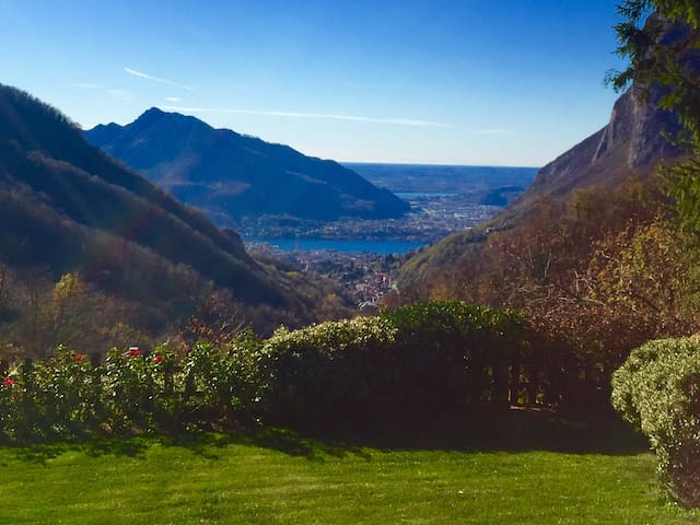 """PANORAMA - VIEW FROM B&B """" A casa di Stefy"""""""