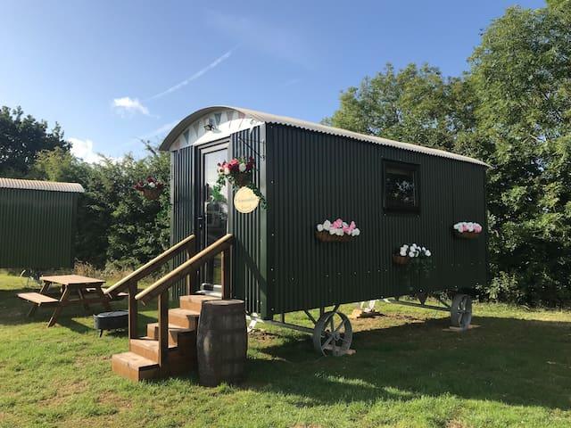 June Shepherds hut