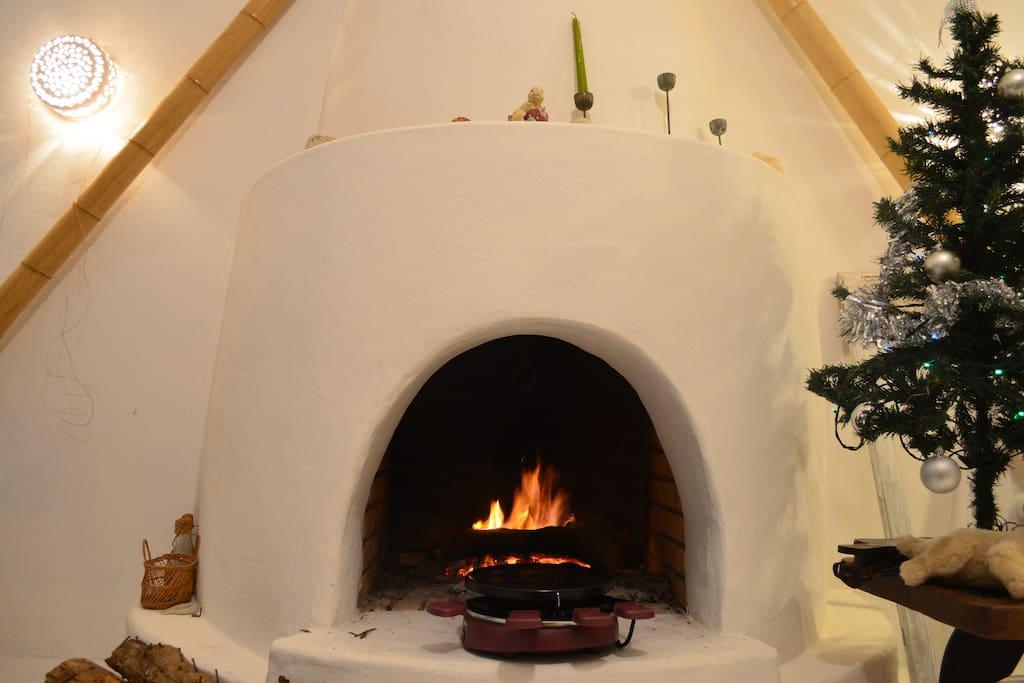 Raclette pour des soirées à côté de la cheminée en famille ou entre amis