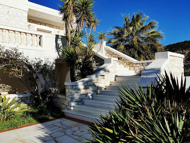 White Marble Home