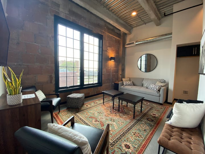 Studio Loft in Renovated Masonic Temple!