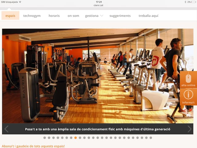 Fitnesss Center Can CARALLEU