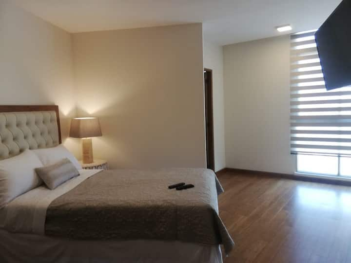 NEW, spacious and impecable two floor apartment
