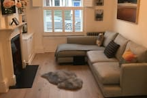 Scandi styled front room