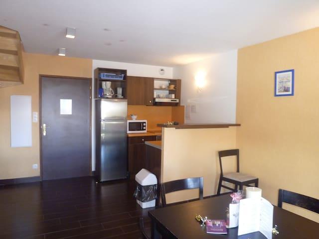 appartements en duplex dans résidence de vacances