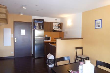 appartements en duplex dans résidence de vacances - Jausiers - Apartamento
