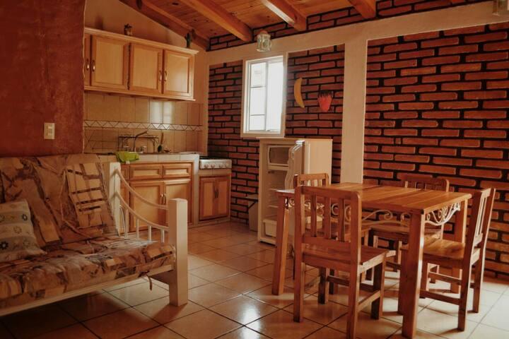 Casa Rosalba (Departamento cabaña 1)