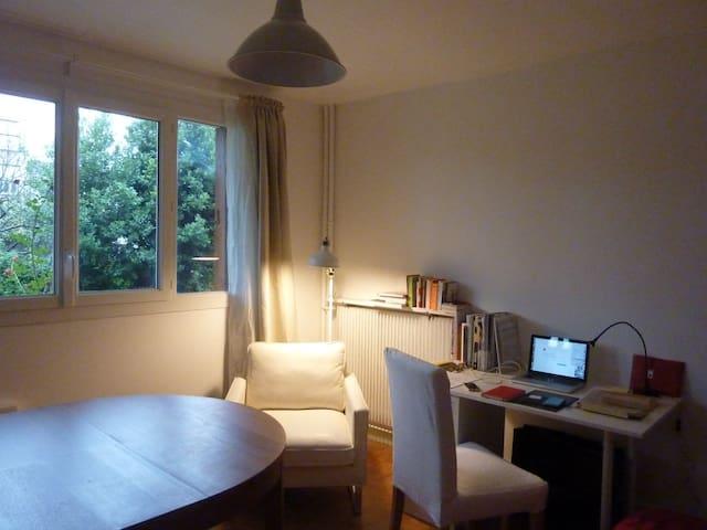 studio 28m2 dans rés. calme - Villejuif - Byt