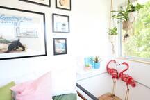 Flamingo Deco Home w/Garden & Parking Near Wynwood