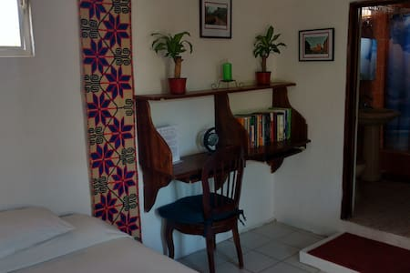 Nice room and terrace near the ocean - Bucerías