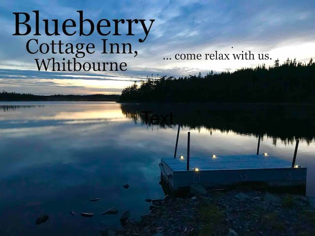 Blueberry Cottage Inn, Whitbourne-Queen Sh. Bath#2