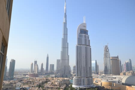 20-FULL BURJ KHALIFA VIEW -LUXRY FLAT NEXT TO MALL - 迪拜