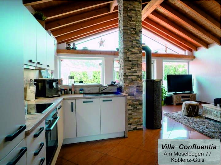 Villa Confluentia & Spa * personal Home Office *