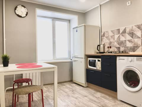 Cozy apart near the Salavat Yulaev's park