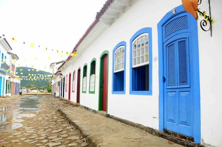 EXCELENTE LOCALIZAÇÃO Centro Histórico Paraty