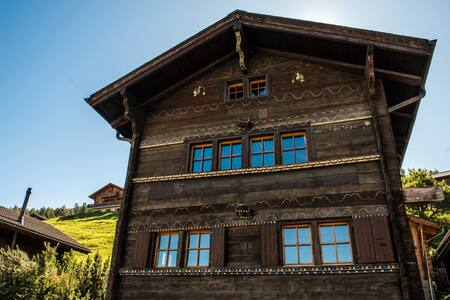 Lovely village house in Nax
