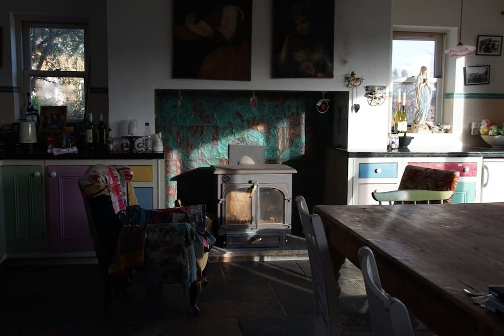 Cosy area in kitchen
