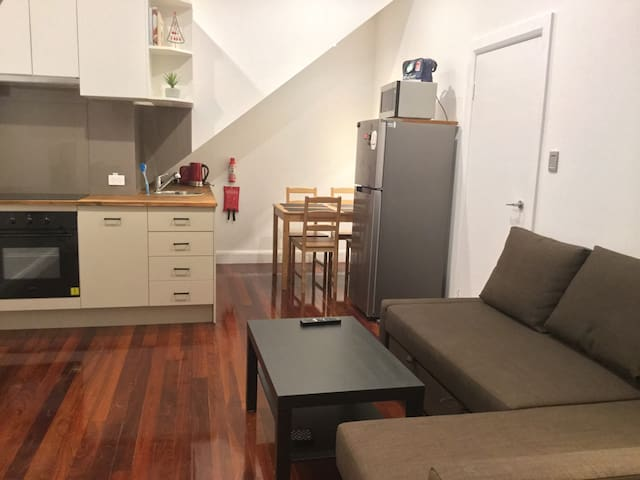 Private centrally located self contained apartment