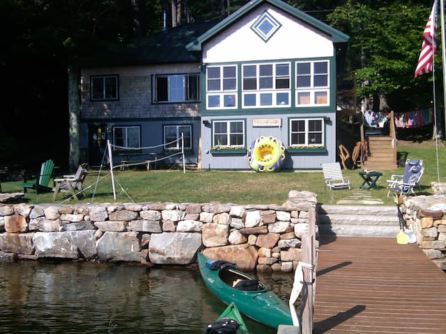 Great Cottage on Big Squam Lake available - Holderness - Huis