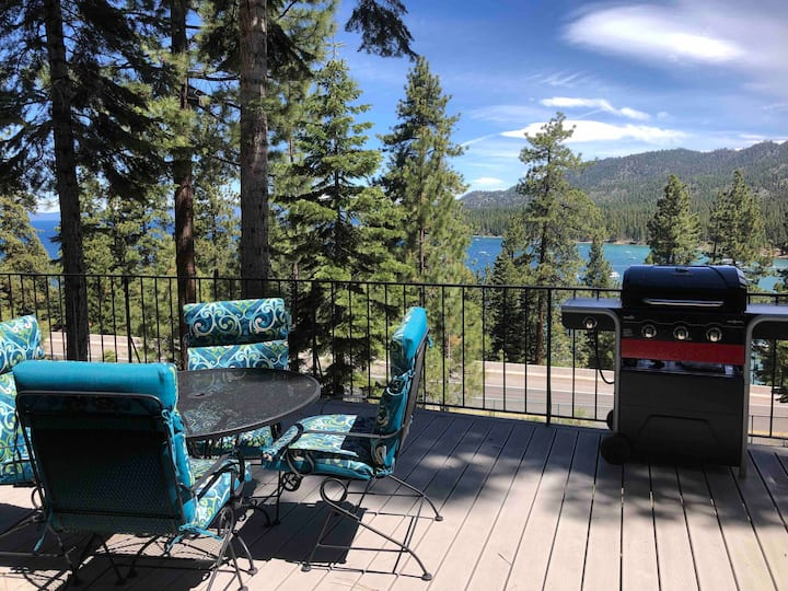 Spectacular Lake Tahoe View!  Large  private deck.