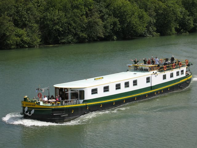 Luxury hotel barge central Maastricht - 4 guests - Maastricht - Boat