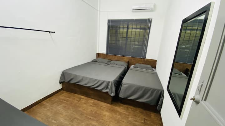 Affordable room in the heart of the city.