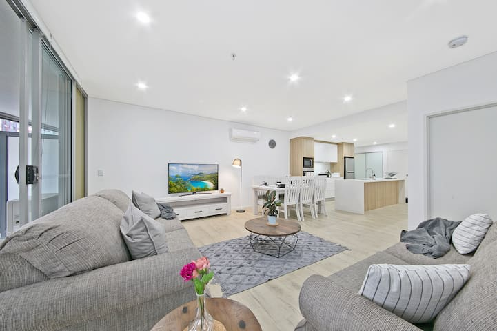 Parramatta CBD/Netflix/WiFi/Washer/Parking/Station