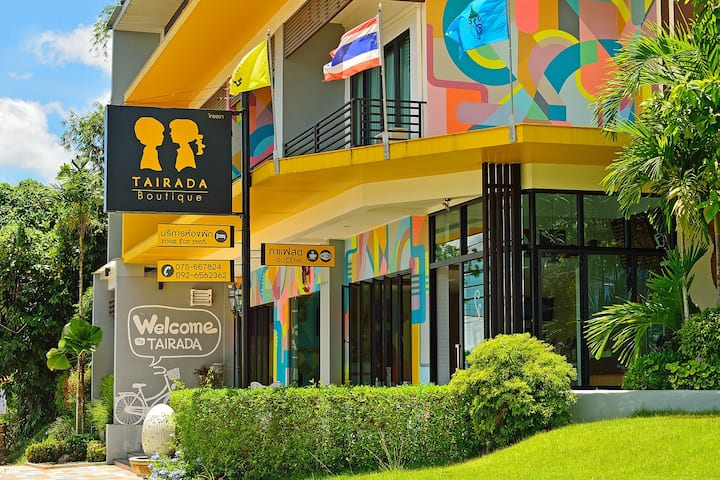 Tairada Boutique@Krabi / Deluxe double/Room only