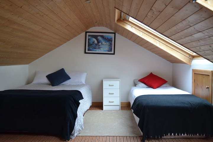 Spacious Attic Room in North Dublin City - Donaghmede - Hus