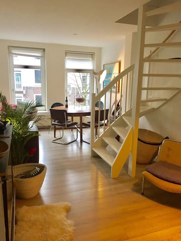 Beautiful and spacious apartment near Westerpark. - Amsterdam - Lejlighed