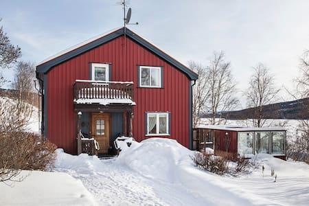 Mysig lägenhet i hus