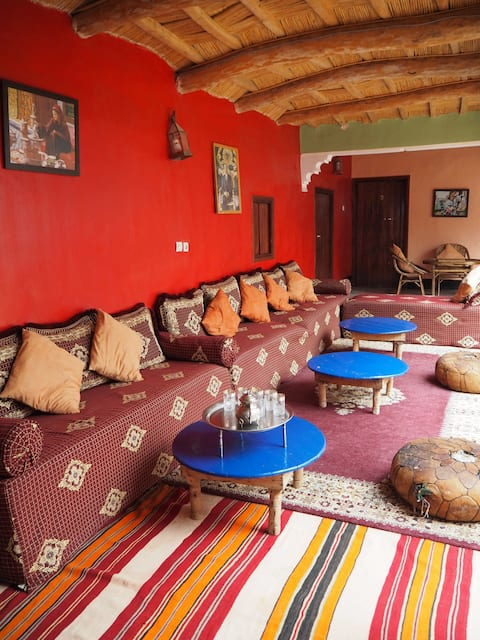 Family room in a friendly Berber homestay