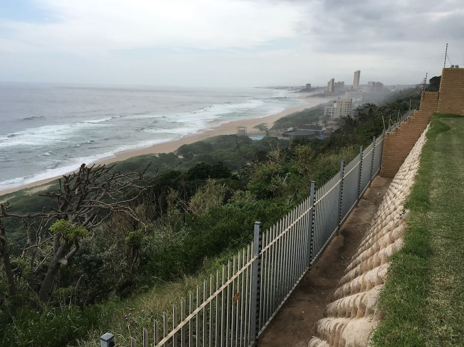 Unobstructed beach and sea views.  Secure fencing and electric fencing.